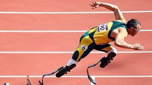 "Oscar Pistorius, also known as the ""Blade Runner"" is accused of premeditated murder in the shooting of his girlfriend. He claims it was a tragic accident.Photo credit:  Fair Use -- USA Today"