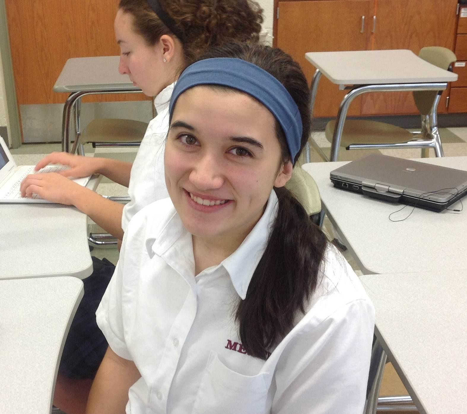 Though junior Sarah Hughes has only recently arrived at Mercy, she embodies one of Mercy's core principles: strong, uncompromising faith. However, she, unlike many others, forged her own unique religious path.