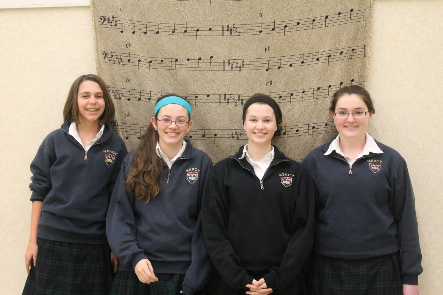 Mercy is one of many high schools to send students to Solo and Ensemble each year.